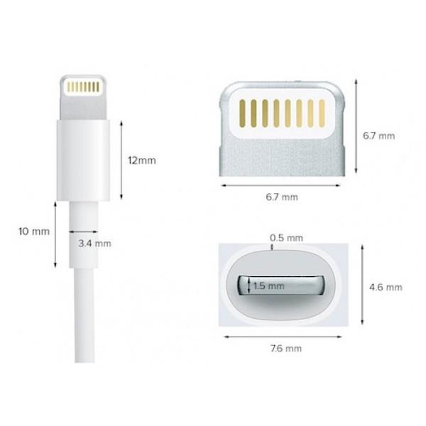Dây Sạc iPhone - Cáp Sạc iPhone Lightning FOXCONN Dành Cho Iphone Ipad 5,6,7,8,X,11,Pro Max