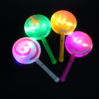 Fashion Light-up LED Lollipop, Glow Stick Toys, Flashing Fairy Wand, Light with