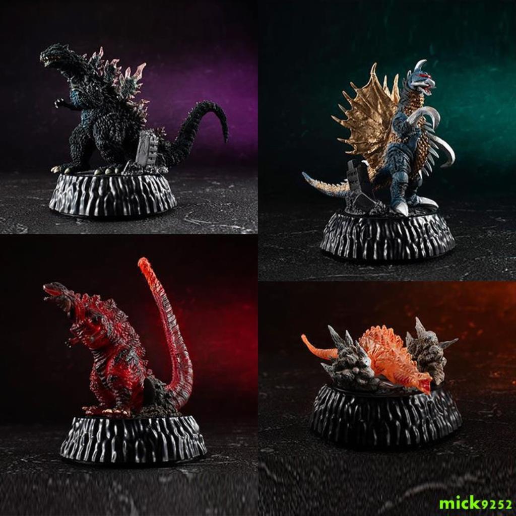 Mô Hình Nhân Vật Godzilla 3 Godzilla Độc Đáo