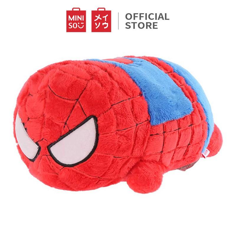 Gối bông Miniso hình Spider-man Marvel ( Đỏ ) - Hàng chính
