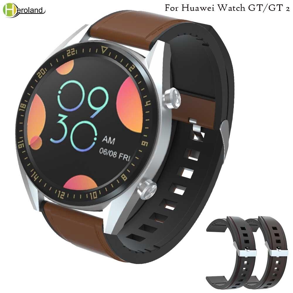 Dây đeo đồng hồ bằng da và silicon 22mm cho Huawei Honor Magic/For Huawei Watch GT/GT 2 46mm/HUAWEI WATCH2 pro - 22751841 , 7808911180 , 322_7808911180 , 109620 , Day-deo-dong-ho-bang-da-va-silicon-22mm-cho-Huawei-Honor-Magic-For-Huawei-Watch-GT-GT-2-46mm-HUAWEI-WATCH2-pro-322_7808911180 , shopee.vn , Dây đeo đồng hồ bằng da và silicon 22mm cho Huawei Honor Mag