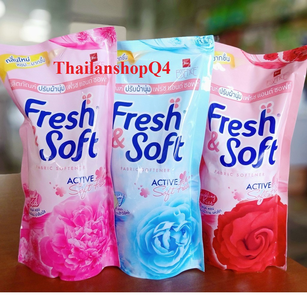 [Mã 267FMCGSALE giảm 8% đơn 500K] HCM - Nước Xả Vải Fresh Soft Thái Lan 600ml