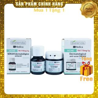 Bộ 2 Sản Phẩm Giảm Mụn Giảm Thâm Tận Gốc, Tái Tạo Phục Hồi Bielenda Dr.Medica Anti Acne - 30ml & 50ml thumbnail