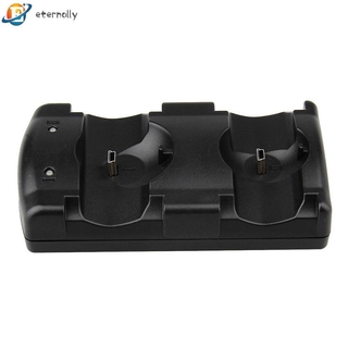 eternally 11.25 USB Dual Charger Charging Dock Station for Sony PS3 Move Wireless Controlle