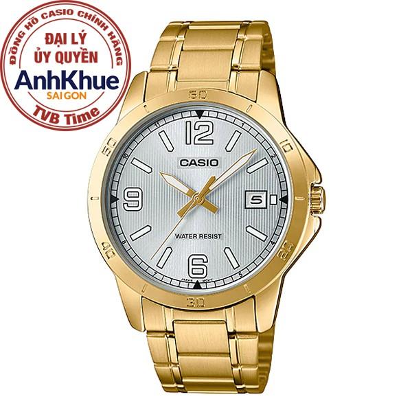 Đồng hồ nam Casio Standard chính hãng Anh Khuê MTP-V004G-7B2UDF