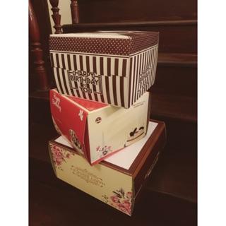 Hộp đựng bánh gato các size 22-26-30 ( hộp đựng bánh sinh nhật không bao gồm đế )