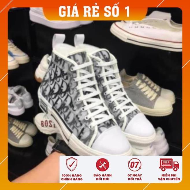 Giày sneakers Giay thể thao cổ cao D1
