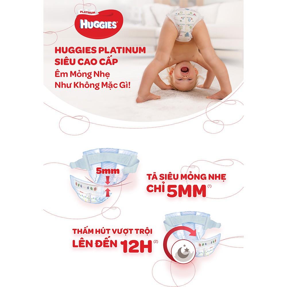 Tã quần siêu cao cấp Huggies Platinum M33/L27/XL24/XXL20