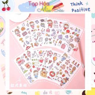 Sticker mẫu mới nhất 2021 siêu dễ thương (set 4 tờ) - MiuSua thumbnail