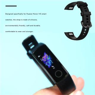 Dây Đeo Thay Thế Chất Liệu Silicon Màu Trơn Thời Trang Cho Huawei Honor 4 / 5