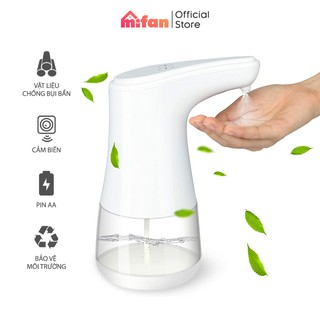 Bình Xịt Cồn Rửa Tay Cảm Ứng Tự Động Cao Cấp MIFAN 2021 - Hộp đựng nước rửa tay - Dung Tích 360ml - BH 3 tháng 1 đổi 1 thumbnail