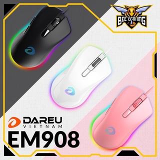 [Mã 77ELSALE hoàn 7% đơn 300K] Chuột Dareu EM908   Hàng chính hãng bảo hành 24 tháng