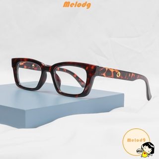 💍MELODG💍 Men Women Square Frame Eyewear Radiation Protection Computer Goggles Anti-blue Light Glasses Vision Care Fashion Blue Light Blocking Retro Classic Vintage Eyeglasses/Multicolor