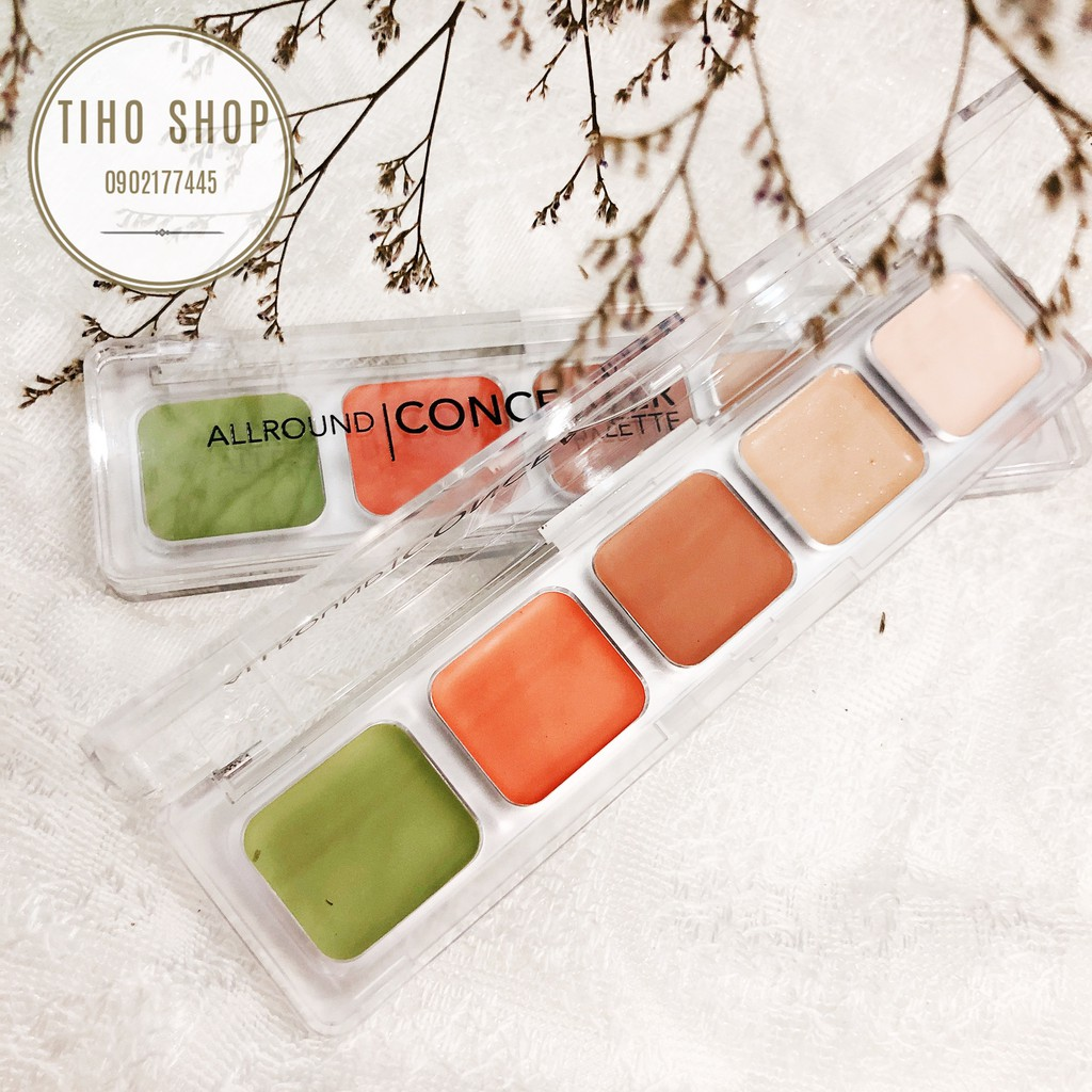Che Khuyết ĐiểmTạo khối Catrice Cosmetic Allround Concealer Palette