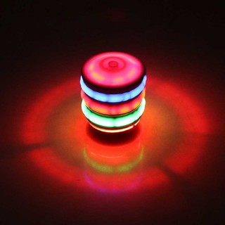 Gyro Colorful Top Children Toys Music Flash Electric Gyro Spinning Top
