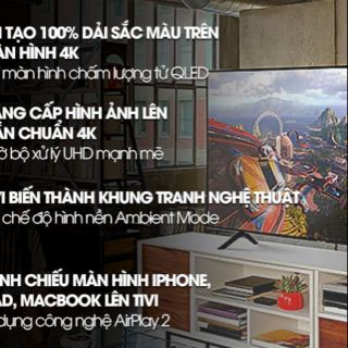 Smart tivi QLED Samsung 4K 75 inch QA75Q65R. Hàng tồn kho , fullbox