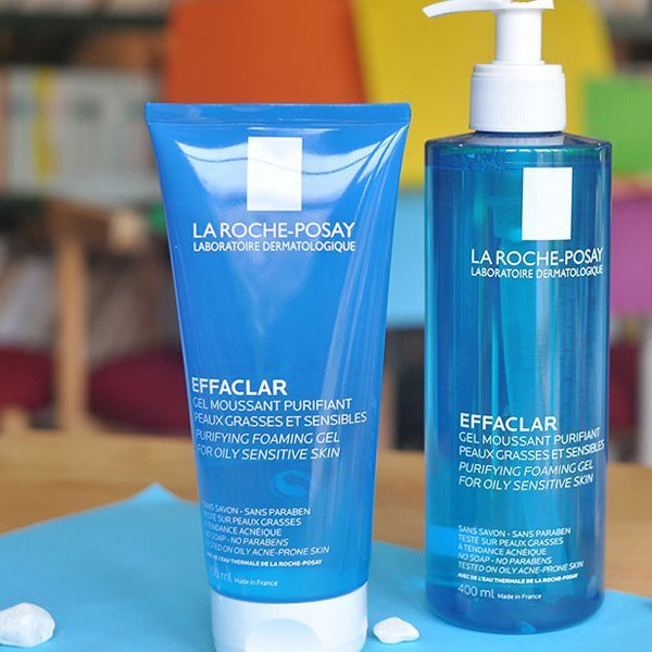 Image result for Gel Rửa Mặt La Roche-Posay Effaclar Purifying