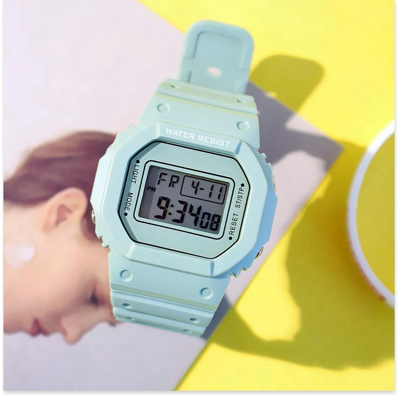 Đồng hồ điện tử   GIÁ VỐN   Đồng hồ điện tử nam nữ Candycat Sppors chống trầy xước, chống thấm nước hiệu quả 9036