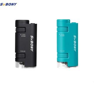 Kính Hiển Vi Mini SVBONY SV603 Thiết Kế Nhỏ Gọn Có Đèn LED Tiện Dụng thumbnail