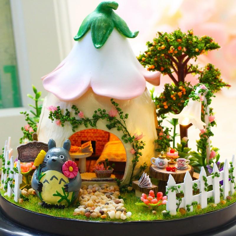 Nhà Búp Bê - Hộp Âm Nhạc Green Garden