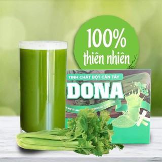 Bột cần tây sấy lạnh Dona bổ sung tảo xoắn Spirulia