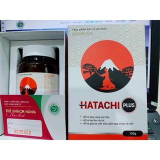 Combo 3 hộp HATACHI PLUS cải thiện tóc bạc tóc rụng
