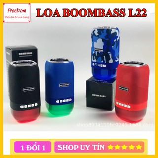 Loa Bluetooth Boombass L22 loa mẫu mới âm thanh Bass siêu ấm Hỗ trợ thẻ nhớ,Bluetooth,audio 3.5mm cao cấp
