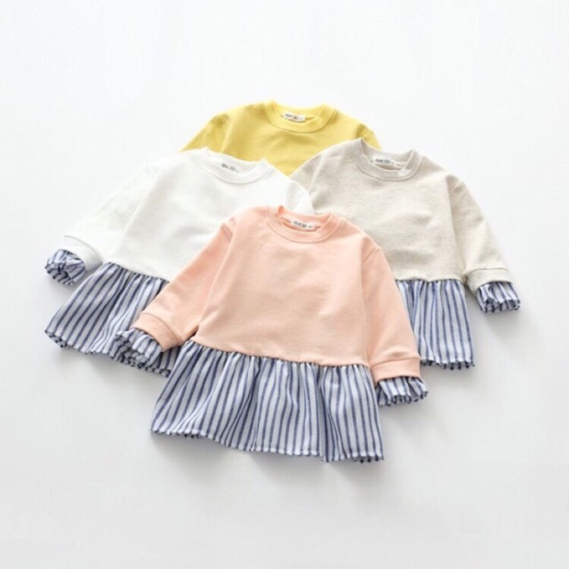 Áo váy bé gái - 2395286 , 100969474 , 322_100969474 , 165000 , Ao-vay-be-gai-322_100969474 , shopee.vn , Áo váy bé gái