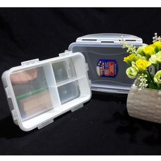 Yêu ThíchHộp đựng thức ăn chia ngăn Lock & Lock bằng nhựa (850ml)