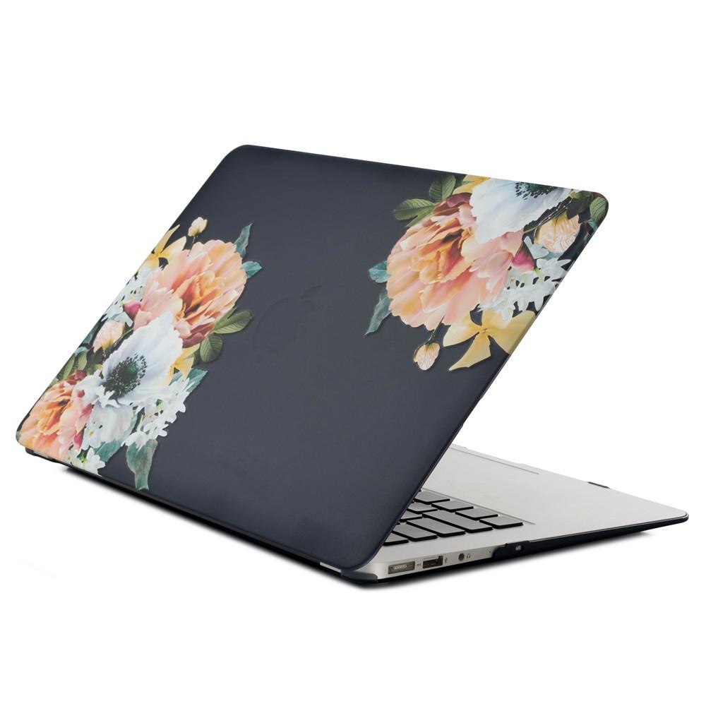Ốp lưng hình hoa xinh xắn cho Macbook Air 11 ( A1370 / A1465 ) 12 inch ( A1534 / 1931
