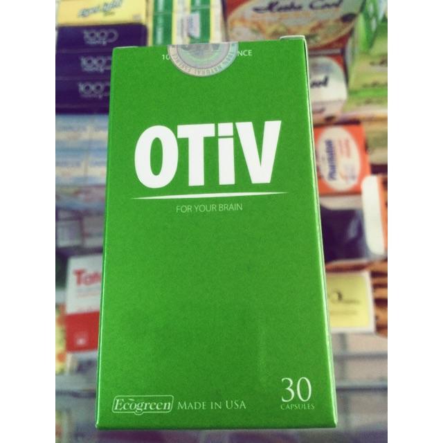 OTIV tăng cường dưỡng chất cho não
