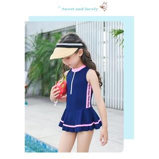 Váy bơi bé gái dạng thể thao cực xinh