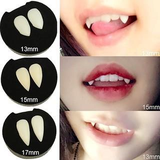 [RẺ VÔ ĐỊCH-HÀNG CÓ SẴN]Set 2 răng nanh giả kèm hộp đựngq-MS2 sp17