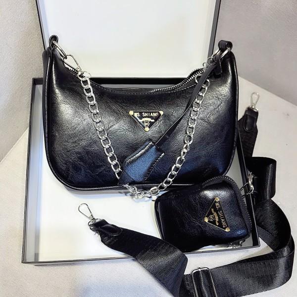 Bộ túi ví kẹp nách đeo chéo Fullbox HT30 mẫu mới