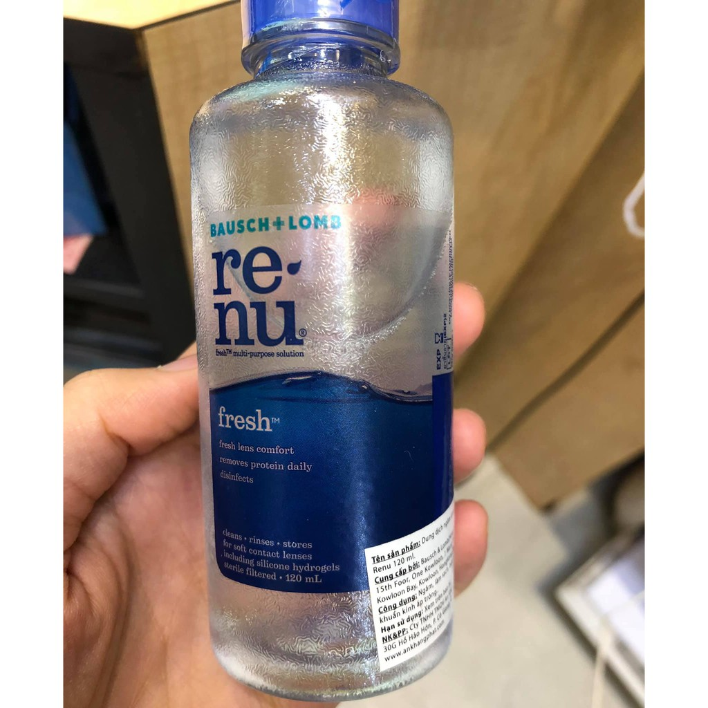 Nước ngâm kính Renu 120ml