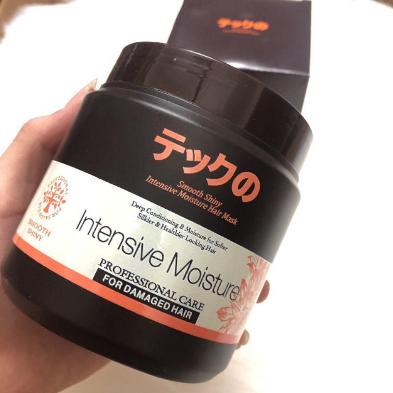 Kem ủ tóc cao cấp cho tóc hư tổn Intensive Moisture 500G