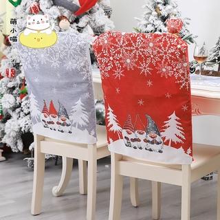 Bọc Ghế Trang Trí Giáng Sinh Bằng Vải Không Dệt