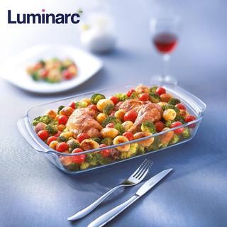 Khay nướng trong suốt Luminarc hình chữ nhật - Sản xuất tại Ả Rập - J1340 thumbnail