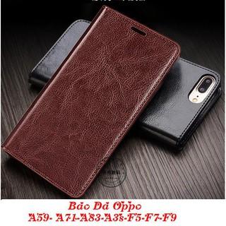 Bao Da Oppo A59- Oppo A71- Oppo A83- Oppo A3s- Oppo F5- Oppo F7- Oppo F9 ( Có Ngăn Để Tiền, Thẻ).
