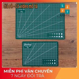 Bảng cắt làm đồ thủ công, tấm lót siêu cứng – Cutting Mat khổ A3, A4, A5 – Dày 3mm