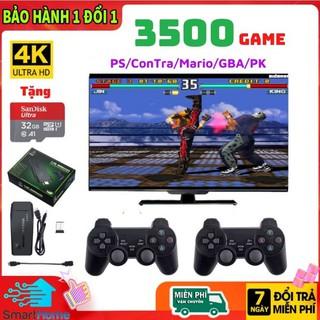 Máy Chơi Game Cầm Tay 4 Nút HDMI 4K,Có 3500 Game, Tặng Thẻ 32GB [BẢO HÀNH 1 NĂM] thumbnail