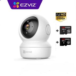 Camera Wifi Ezviz C6N 1080p , C6N 2mp kèm thẻ 32GB hoặc thẻ 64GB – Hàng chính hãng