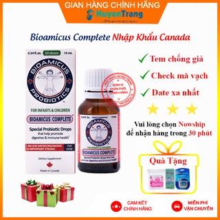 ✔️️️(Tặng quà xinh) Men vi sinh Bioamicus Complete 10 chủng – Nhập khẩu chính hãng Canada