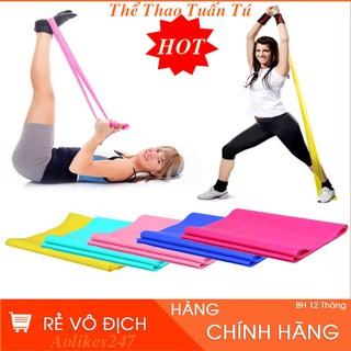 Dây Cao Su Đàn Hồi Kháng Lực Tập Thể Dục Yoga 1,5 Mét Y11 thumbnail