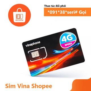 Sim Trắng Vinaphone Tự Thay Loại 4G