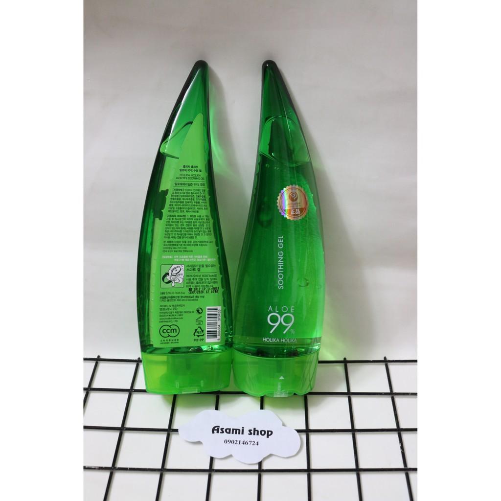 Gel Dưỡng Lô Hội Holika Holika Aloe 99% Soothing Gel - 250ml