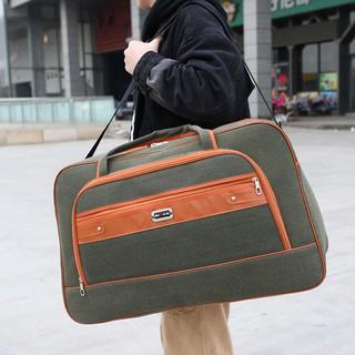 Túi xách du lịch vải Canvas kích cỡ lớn tiện dụng cho nam và nữ