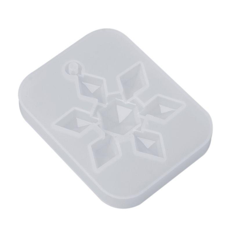 Khuôn silicon tạo hình bông tuyết trang trí thủ công