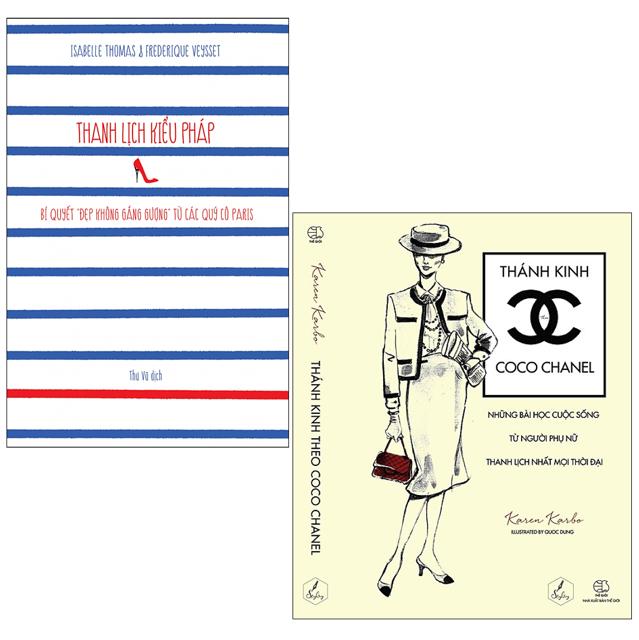 Sách - Combo Thanh Lịch Kiểu Pháp & Thánh Kinh Theo Coco Chanel - 3475266 , 754093307 , 322_754093307 , 278000 , Sach-Combo-Thanh-Lich-Kieu-Phap-Thanh-Kinh-Theo-Coco-Chanel-322_754093307 , shopee.vn , Sách - Combo Thanh Lịch Kiểu Pháp & Thánh Kinh Theo Coco Chanel