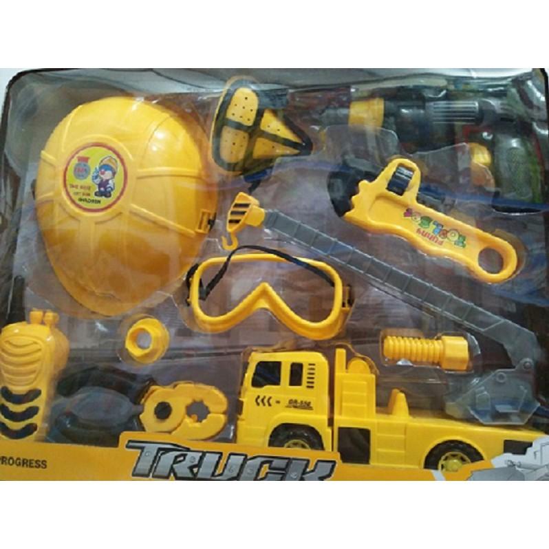 Đồ chơi xe công trình, đồ chơi kỹ sư, đồ chơi dụng cụ công trình
